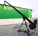 PROAIM 16ft OCTAGONAL TELESCOPIC JIB CAMERA CRANE + 100 mm Bowl TRIPOD